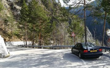 This road was pretty extreme – hairpin after hairpin, often a single lane, but with some incredible views.
